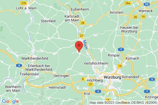Karte Leinach