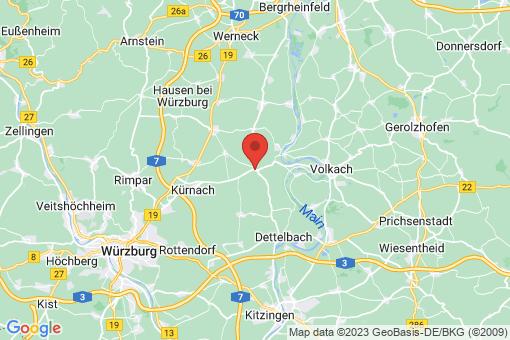 Karte Prosselsheim