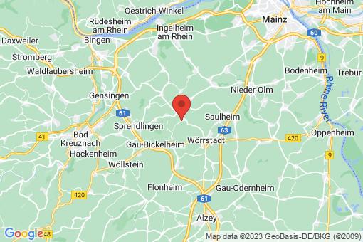 Karte Vendersheim