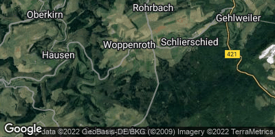 Google Map of Woppenroth