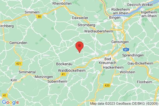 Karte Braunweiler