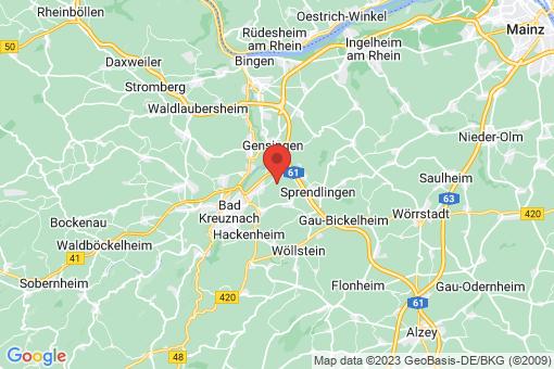Karte Biebelsheim