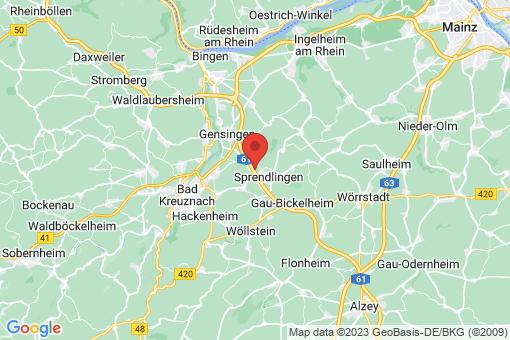 Karte Zotzenheim