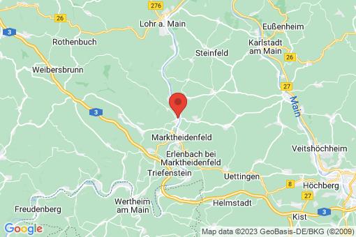 Karte Hafenlohr