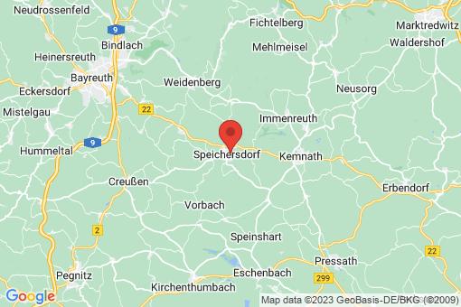 Karte Speichersdorf
