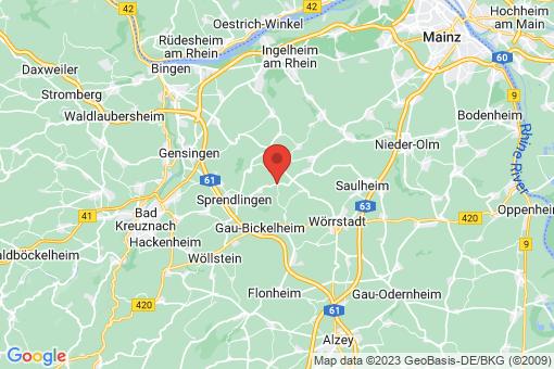 Karte Wolfsheim