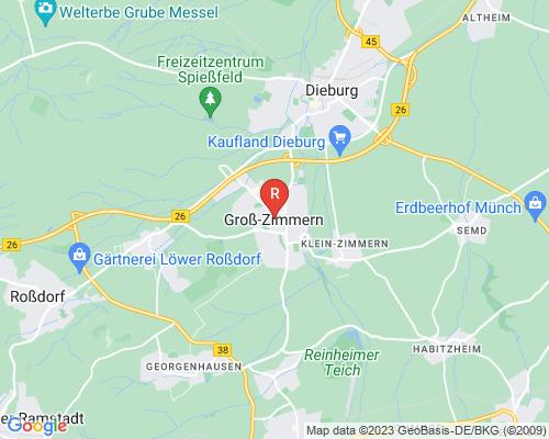 Google Karte von Rohrreinigung Groß-Zimmern