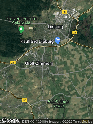Google Map of Groß-Zimmern