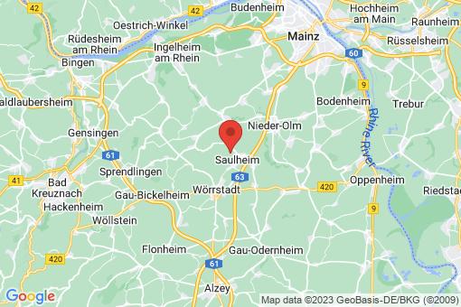 Karte Saulheim