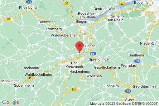 Karte Bretzenheim