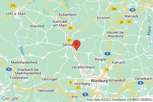 Karte Thüngersheim