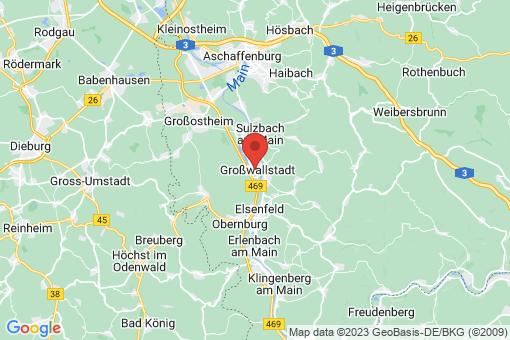 Karte Großwallstadt