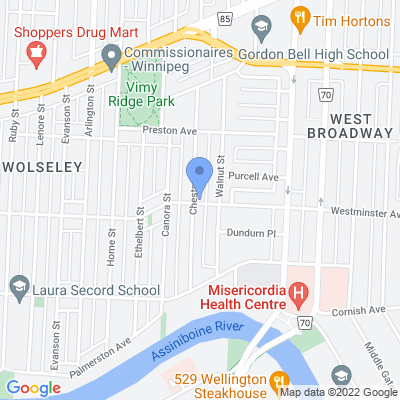 Chestnut Grocery Fine Foods Map