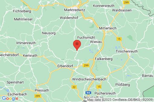 Karte Friedenfels