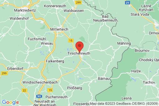 Karte Tirschenreuth