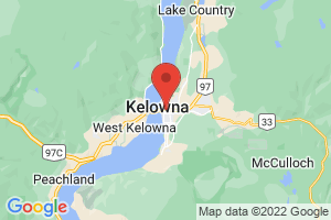 Map of Kelowna