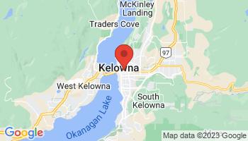 Map of Kelowna