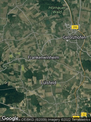 Google Map of Frankenwinheim