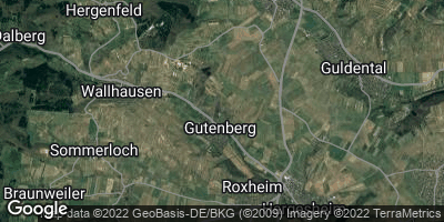 Google Map of Gutenberg