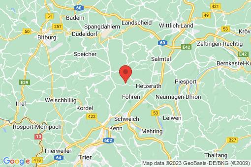 Karte Naurath (Eifel)