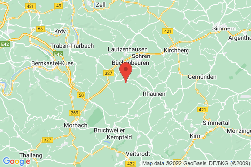 Karte Krummenau