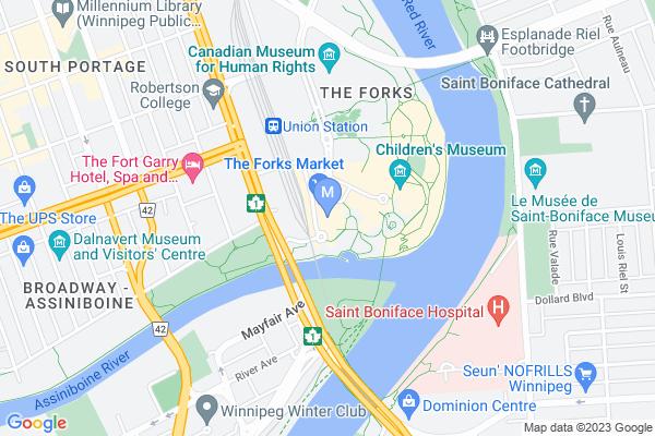 Map of 1 Forks Market Rd