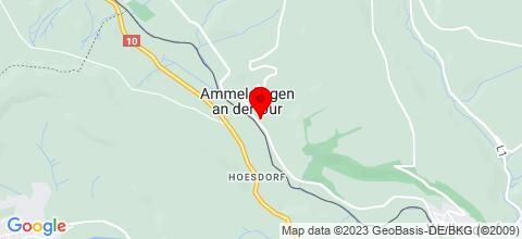 Google Map für Monteurzimmer an der Luxemburger Grenze
