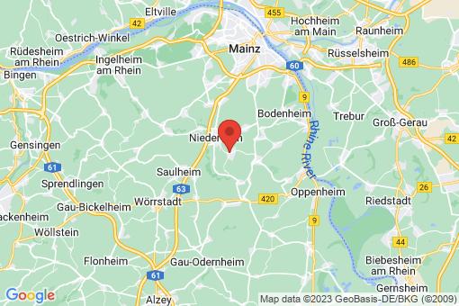 Karte Zornheim