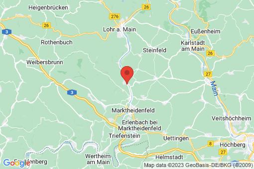 Karte Rothenfels