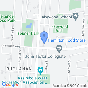 Hamilton Food Store Map