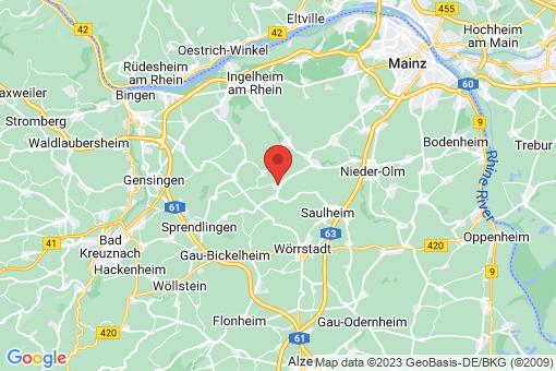Karte Jugenheim
