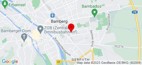Google Map für gepflegte Ferienwohnungen und Monteurzimmer / Monteurwohnungen