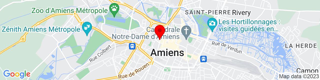 Google Map of 49.894727777777774, 2.2931583333333334