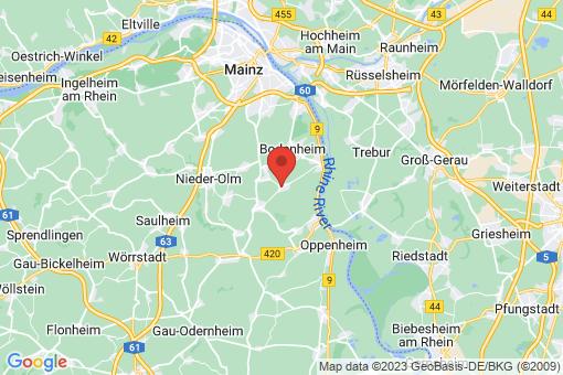 Karte Lörzweiler