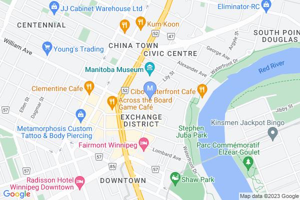 Map of Market Avenue