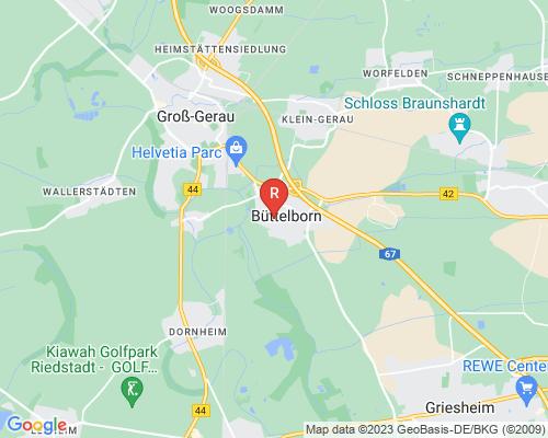 Google Karte von Rohrreinigung Büttelborn