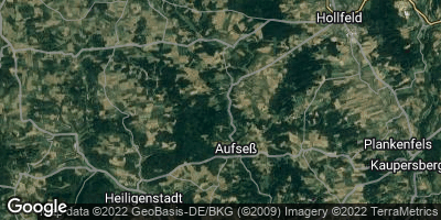 Google Map of Aufseß