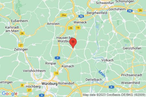 Karte Bergtheim