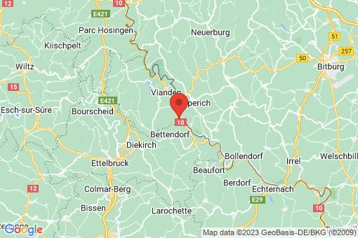 Karte Gentingen