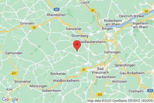 Karte Hergenfeld