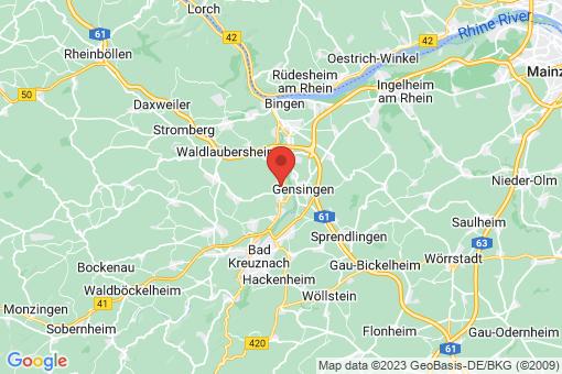 Karte Langenlonsheim