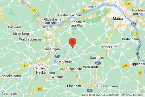 Karte Ober-Hilbersheim