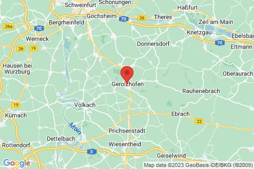 Karte Gerolzhofen