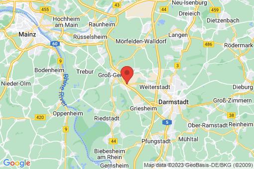 Karte Büttelborn