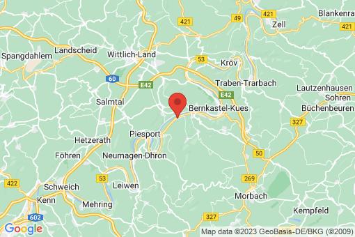 Karte Brauneberg