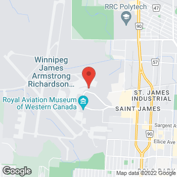 Map of Tim Hortons at 2000 Wellington Ave, Winnipeg, MB R3H 1C1