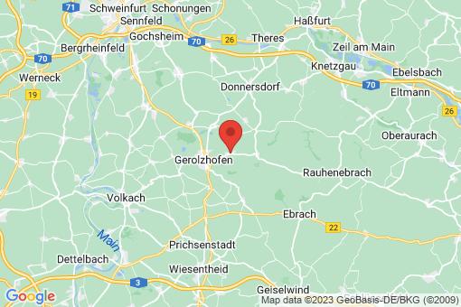 Karte Dingolshausen