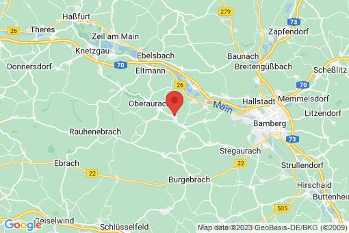 Karte Priesendorf