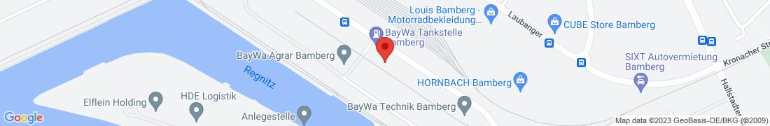 Fachzentrum Holzpellets Bamberg Anfahrt