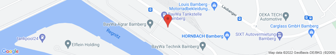 BayWa AG Bamberg-Stadtlager Anfahrt